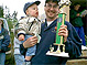 Brod,Dad and trophy
